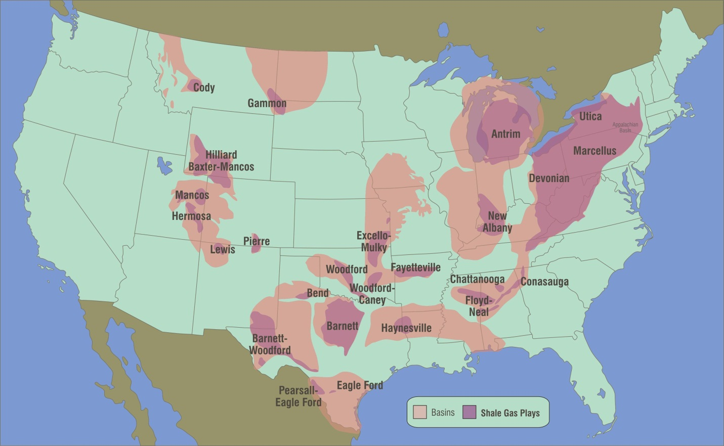 USA Map Of Oil Gas Drilling Fracking Sites And Health Safety - Map us oil fields